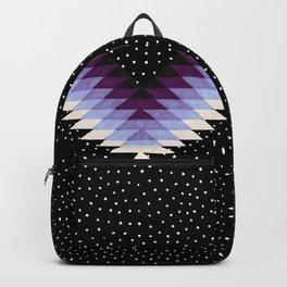 Cosmic Eye - Peach/Plum Backpack
