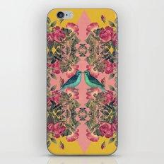 Love Birds II (yellow version) iPhone & iPod Skin