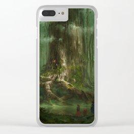 Secret of Mana Clear iPhone Case