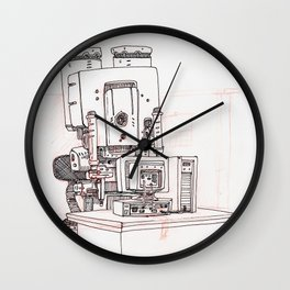 Deskjob Wall Clock