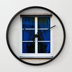 fenster 1 Wall Clock