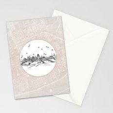 Cincinnati, Ohio City Skyline Stationery Cards