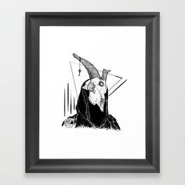 The Conjurer Framed Art Print