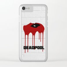 Dead-Pool Alternative Poster Clear iPhone Case