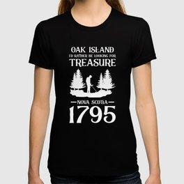 Oak Island Treasure Hunter Canada Templar Knights T-shirt