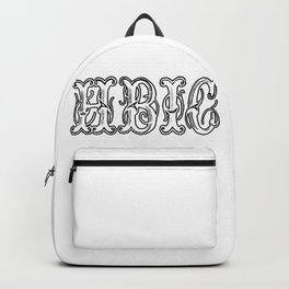 Hbic Vintage Letters Backpack