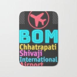 BOM Chhatrapati Shivaji International Airport Bath Mat