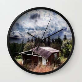 Broken house Wall Clock
