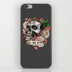 I'll Be Back iPhone & iPod Skin