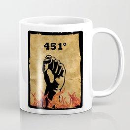 Fahrenheit 451 - Ray Bradbury Coffee Mug