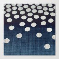 indigo Canvas Prints featuring Indigo by Good Sense