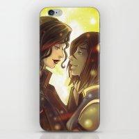 korrasami iPhone & iPod Skins featuring Korrasami by Dani Taillefer
