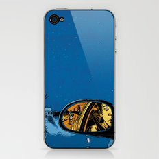 Night Drive iPhone & iPod Skin