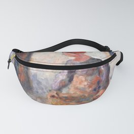 Camille Pissarro - Peasant Woman Carrying a Large Wicker Basket Fanny Pack