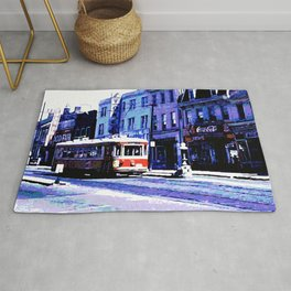 DC Trolley Car Rug