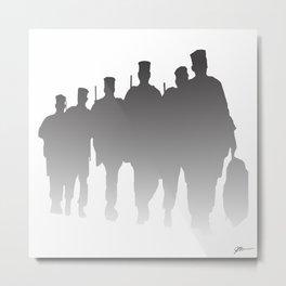 Deployment Metal Print