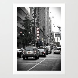 NYC City Street Art Print