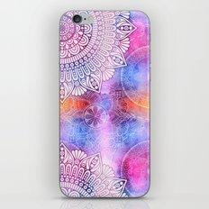 Modern Abstract Mandala Flower iPhone & iPod Skin
