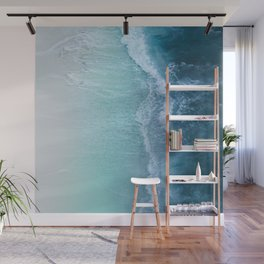 Turquoise Sea Wall Mural
