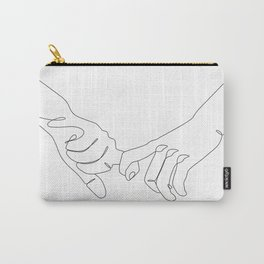 Lover's Hands Carry-All Pouch
