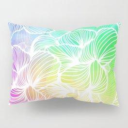Tropical Rainbow Pillow Sham