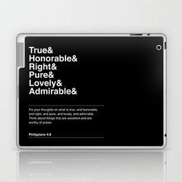 PHILIPPIANS 4:8 Laptop & iPad Skin
