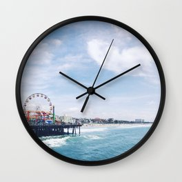 Cali Summer Vibe Wall Clock