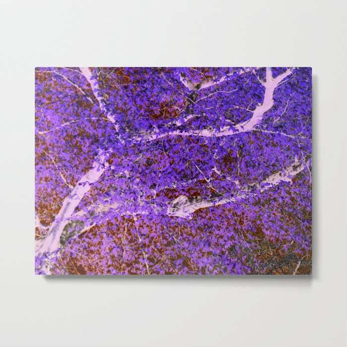 abstract tree Metal Print
