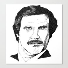 I'm Ron Burgundy? Canvas Print