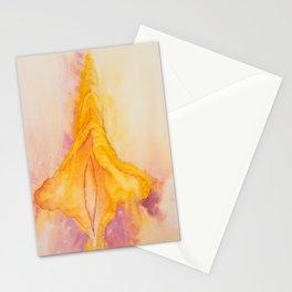 Golden Yoni Stationery Cards