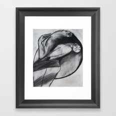 LOVERS  (ORIGINAL SOLD) Framed Art Print