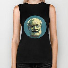Ernest Hemingway Biker Tank