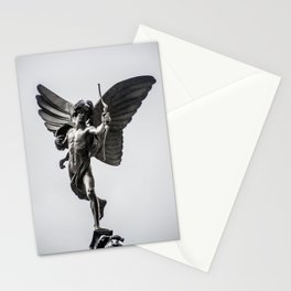 Anteros not Eros Piccadilly Circus London England Landmark Stationery Cards