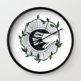 Eye wide opened Wall Clock