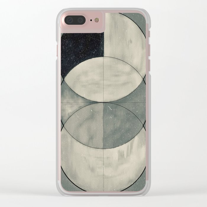 Untitled-#2 Clear iPhone Case