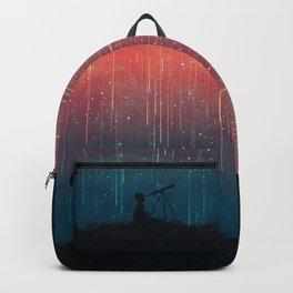 Meteor rain Backpack
