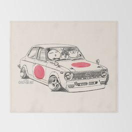 Crazy Car Art 0168 Throw Blanket