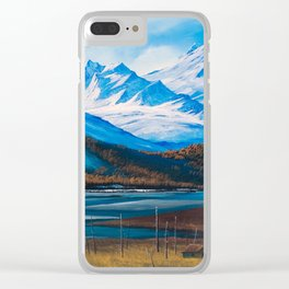 Flow of an Alaska thaw Clear iPhone Case