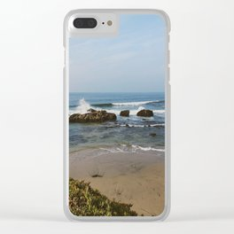 Beachy Days Clear iPhone Case