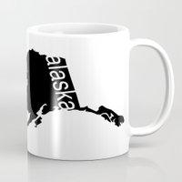 alaska Mugs featuring Alaska by Isabel Moreno-Garcia