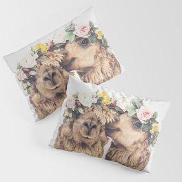 Flowers in her hair Pillow Sham
