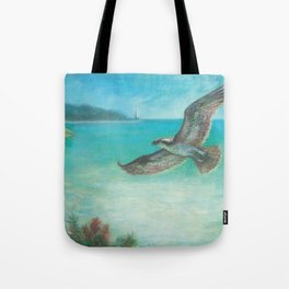 Belle's Journey: Island Hopping Tote Bag