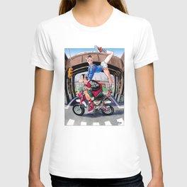 SimpHoo and CoolNoodle_NYC_HondaMoney T-shirt