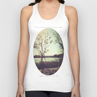 salt water Tank Tops featuring salt water is the cure for anything. by Vermillion Jane