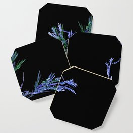 Winter Tree Fractal Coaster