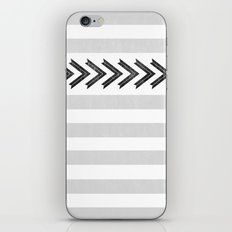 ARROW STRIPE {GRAY} iPhone & iPod Skin