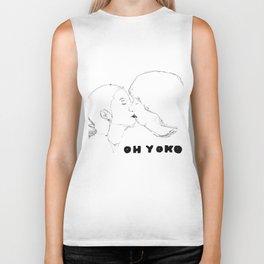Oh Yoko  Biker Tank