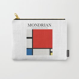 Mondrian - Composition with Red, Blue and Yellow Carry-All Pouch