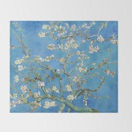 Vintage Vincent Van Gogh Almond Blossoms Throw Blanket