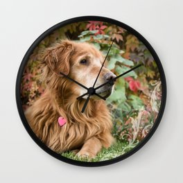 Comanche Autumn Wall Clock